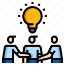 idea, team, meeting