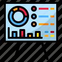 graph, presentation icon