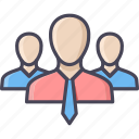 business, group, management, team, teamwork, users icon