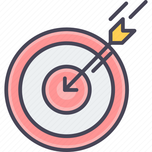 aim, dartboard, focus, goal, shoot, shooting, target icon