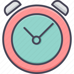 alarm, alert, attention, clock, time, timepiece, timer icon