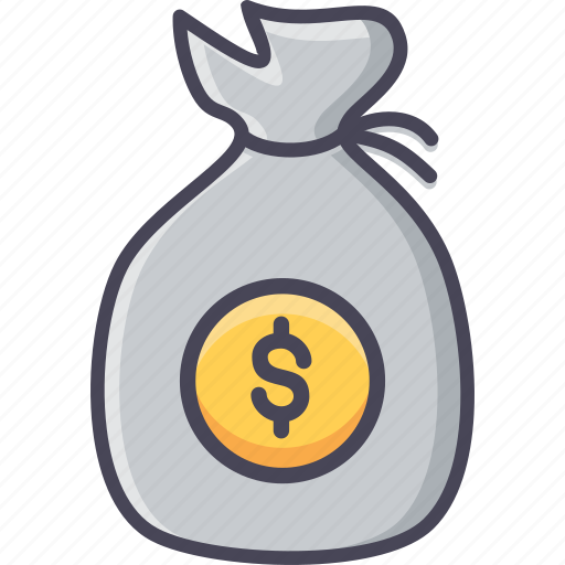 bag, budget, dollar, finance, funds, investment, money icon