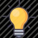 bulb, idea, lightbulb, electric, energy, innovation, power