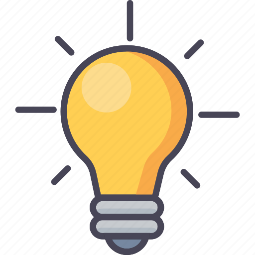 bulb, electric, energy, idea, innovation, lightbulb, power icon