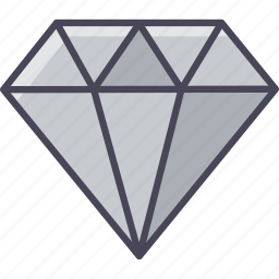 best, diamond, quality, rate, top, work icon