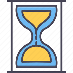 clock, hourglass, sandglass, schedule, stopwatch, time, timer icon