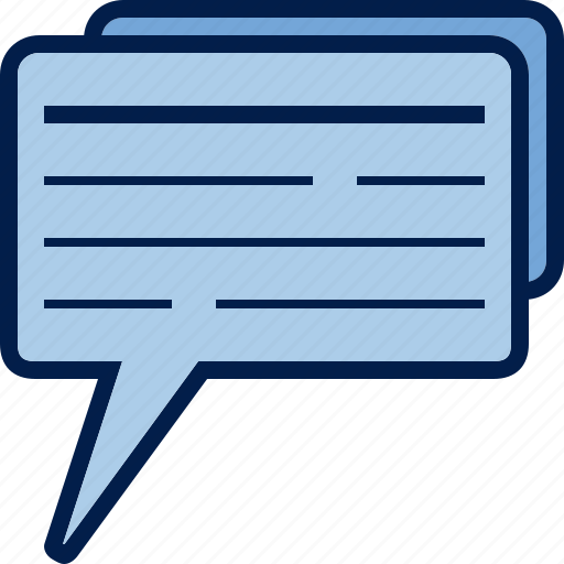 business, chat, communication, dialogue, finance, mail, message icon