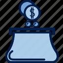 business, cash, coins, finance, money, payment, purse