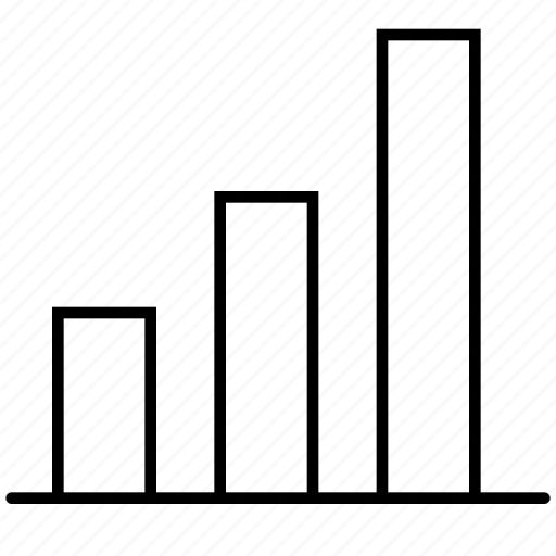analytics, bar, chart, diagram, graph, growth, statistics icon
