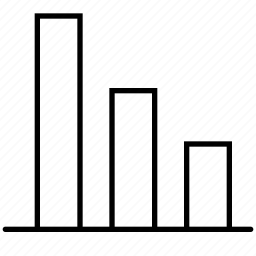 analytics, bar, chart, diagram, finance, graph, statistics icon