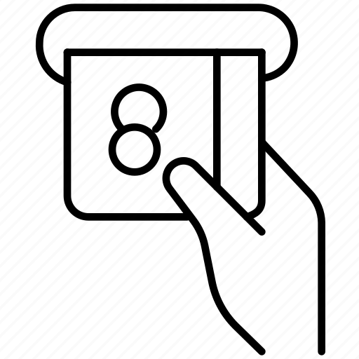 atm, bank, business, cash point, currency, machine, money icon