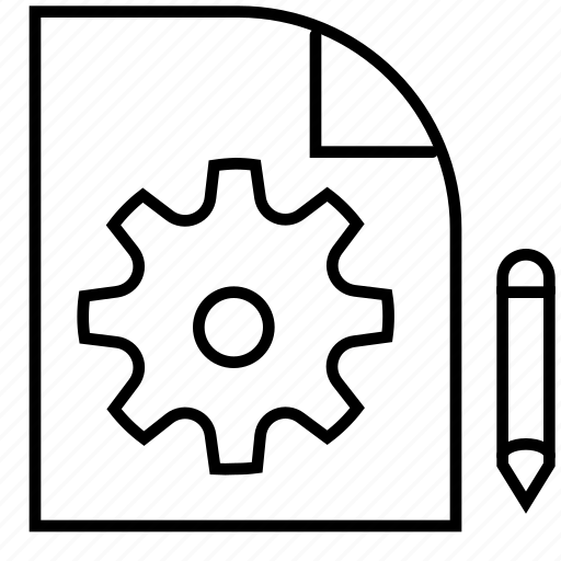 archive, business, document, file, finance, money, settings icon