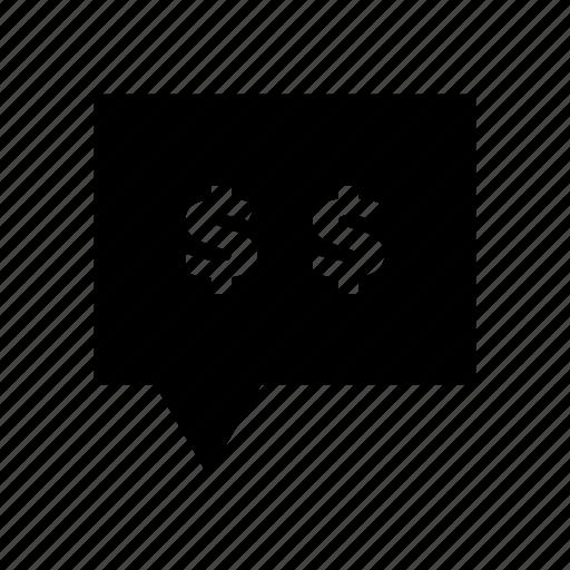 Chat, dollars, money, talk icon - Download on Iconfinder