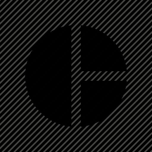Chart, pie, three, part icon - Download on Iconfinder