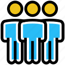 business, business & finance, businessmen, employees, people, users icon