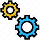business, business & finance, cogwheel, gear, settings, setup icon