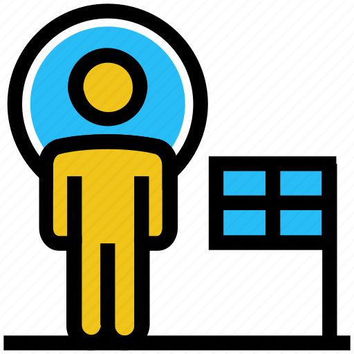announcement, business, businessman, finance, person, user icon