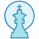 business, business & finance, finance, game, king, strategy icon