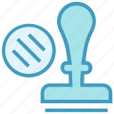 business, business & finance, job, legal, stamp, stationery icon