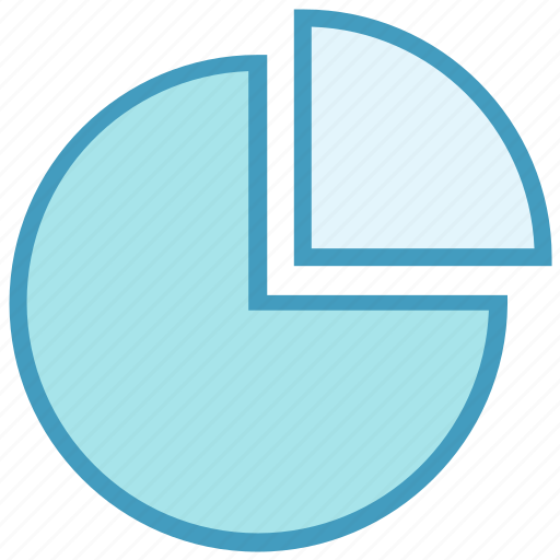 business, business & finance, chart, diagram, graph, pie chart icon