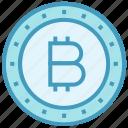 bit coin, bitcoin, business, business & finance, coin, money icon