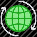 arrows, business, business & finance, global, sync, world