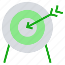 arrow, business, business & finance, focus, goal, target icon