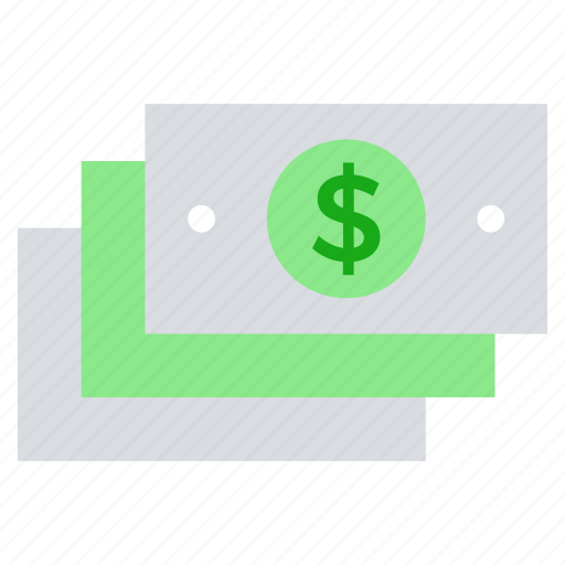 business, cash, dollar notes, money, money business & finance, paper icon
