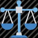 balance, business, decision, finance, libra, scale icon