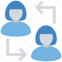 arrows, business, exchange, finance, persons, replace, sharing
