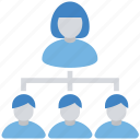 business, connection, data share, finance, networking, sharing, users icon