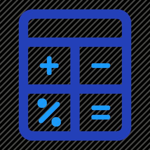 accounting, calculate, calculator, finance, math icon