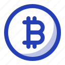 bitcoin, blockchain, crypto, cryptocurrency, finance icon