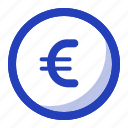 cash, coin, currency, euro, finance, money