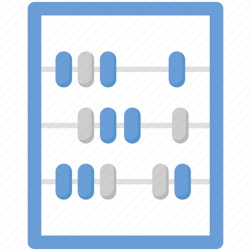 abacus, calculate, counting, counting frame, finance, math icon