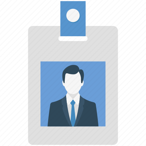 card, employee, id card, identity card, worker icon