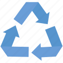 arrows, flow, process, recycle, recycling icon
