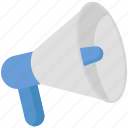 advertising, announcement, marketing, megaphone, promotion icon