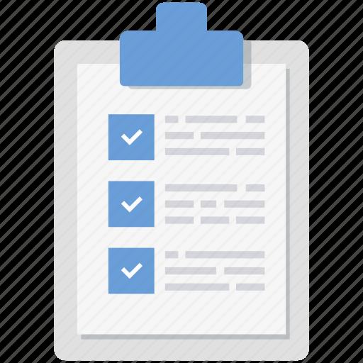 analysis, data, description, details, document, report, statement icon