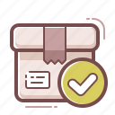 delivery, package, product icon