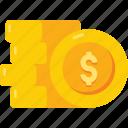 coins, dollars, investment, money, finance