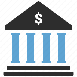 bank, building, government, panteon icon