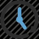 anticlockwise, arrow, circle, history icon