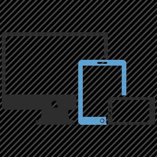 computer, design, graphic, mobile, tab icon
