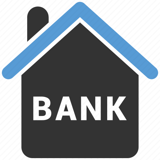 architecture, bank, bank building, building, real icon