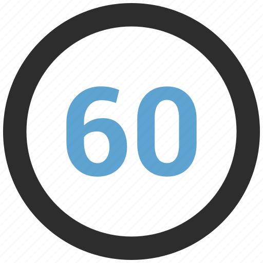 chart, count, graphic, info, number, percent, sixty icon