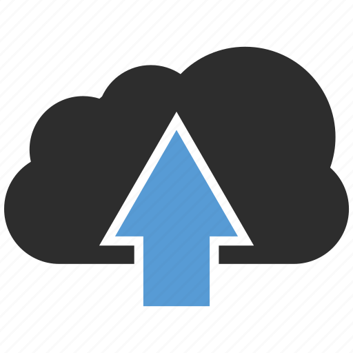 cloud, download, sky, upload icon