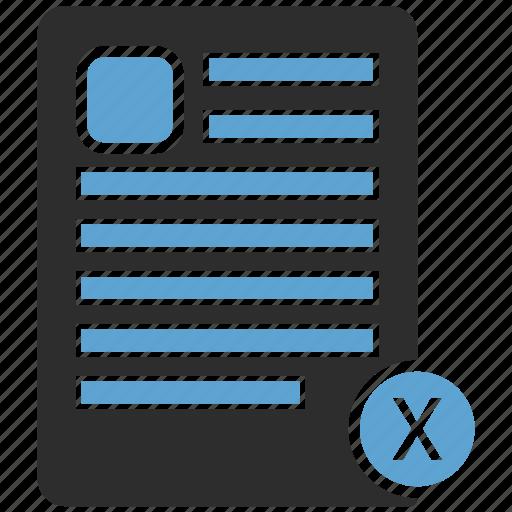 contract, document, edit, paper, sign, signature, write icon
