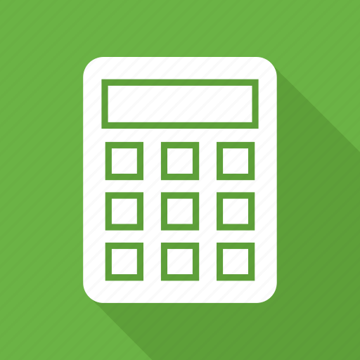 calculate, calculator, finance, math, numbers icon