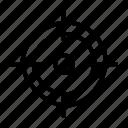 focus, target icon icon